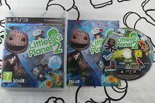 PLAY STATION 3 PS3 LITTLE BIG PLANET 2 MUY BUEN ESTADO PAL ESPAÑA