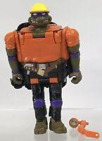 TMNT Mighty Mutations Construction Mutation Donatello Don Transforms Bulldozer