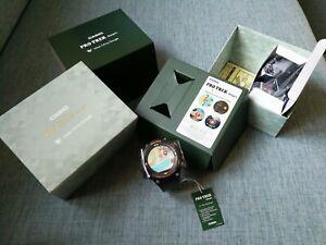 new casio wsd-f20-gn green color pro trek gps smart outdoor watch japan rare