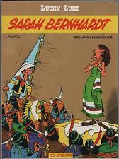 morris LUCKY LUKE 1 SARAH BERNHARDT alessandro distribuzioni I CLASSICI n.2 1987