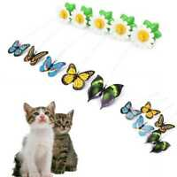 Pet Electric Rotating Bird Butterfly Toy For Cat Teaser Wire Interactive Toys