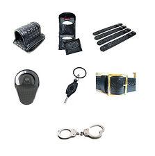 Police - Garrison Basket Weave Belt with Accessories