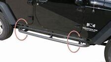 Rampage Retrattile Parasassi Steps 07-17 Jeep Wrangler JK 4 Door 88732 Nero
