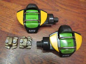 TIME EX CARBON DUAL STEP MULTIREFLEX BIOPERFORMANCE CLIPLESS PEDALS & CLEATS