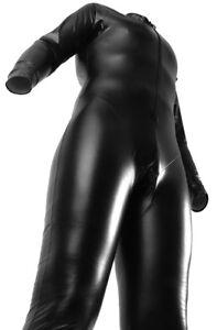 TPU Ganzkörper Anzug Gummi Body Frauen Männer Zip body Fullsuit Overall Lack NEU
