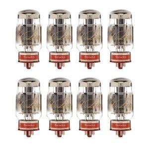 Brand New Matched Octet (8) Genalex Gold Lion Reissue KT88 / 6550 Vacuum Tubes