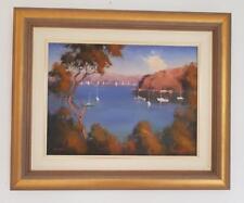 WERNER FILIPICH ~Cremorne~ ORIGINAL Australian OIL Painting on Canvas FRAMED Art