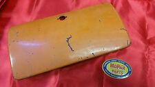 1957 DODGE TRUCK METAL GLOVE BOX DOOR ORIGINAL MOPAR FORWARD LOOK! SWEPTSIDE