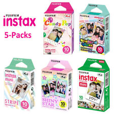 For Fujifilm Instax Mini 8 9 70 Polaroid 300 Camera Fuji Instant 50 Sheets Film