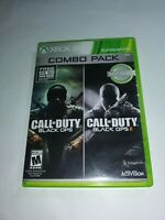 Black Ops Combo Pack Xbox 360 Complete Discs In Good Condition Fast Ship