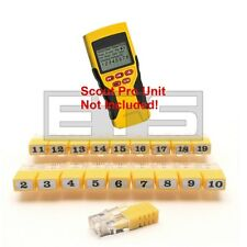 Klein Tools VDV Scout Pro LT RJ11 Remote Identifier Mapper IDs Set 1-19