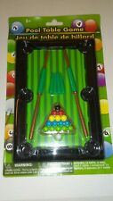 Kids Pool Table Game Includes 16 Balls 2 Cues And 1 Table Ages 3 And Up