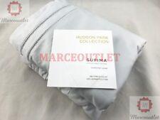 Hudson Park 680 Thread Count Cotton Sateen Full / Queen Duvet Cover Cloud