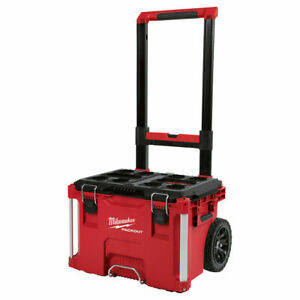 Milwaukee 48-22-8426 Packout Rolling Tool Box with Impact Resistant Polymers