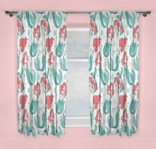 The Little Mermaid Disney Princess Ariel Oceanic Curtains 66x54 Inch 167x137cm
