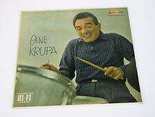 Exciting Gene Krupa Clef Records MGC-687 Deep Groove.