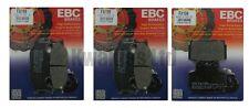 Yamaha Xj600n XJ600 1998-2003 Set EBC Pastillas de freno traseras y Delanteras
