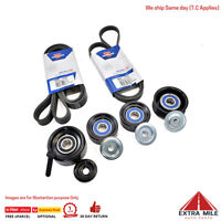 Drive Belts and Pulleys for Commodore VT VX VY VZ V8 LS1 LS2 GEN3 5.7L 6.0L Hold