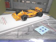 F1 LOTUS Honda 99T Turbo 1987 British GP #12 Senna + D Resin Truescale TSM 1:43