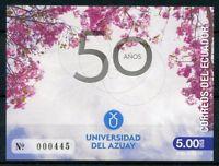 Ecuador 2018 MNH Universidad del Azuay University 1v M/S Universities Stamps