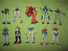 Bandai 2000 - 2003 MSIA Gundam ROBOT SPIRITS Lot of 10 Action Figures FOR PARTS