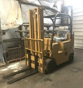 "CAT T80CSTR 8000 LB Forklift 156"" Lift - Liquid Propane - 2500 Hours"
