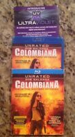 Colombiana (Blu-ray Disc, 2011, Unrated)Authentic US Release