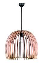 Lampadario in legno naturale vintage D.60 a 1 luce coll. trio R30256030 Wood