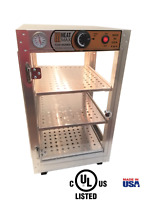 HeatMax 14x14x24 Commercial Food Warmer for Pizza, Empanada, Pastry