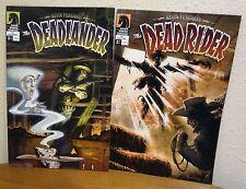 Kevin Ferrara's the Deadlander #1 & Deadrider #2 complete set 1-2 dark horse
