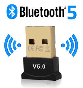 Clé USB Bluetooth Dongle Sans Fil Adaptateur V5.0 Pour PC Ordinateur Portable