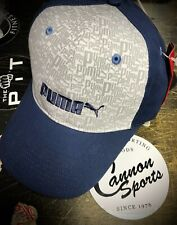 Puma Graphics Adults Cap Peak Hat
