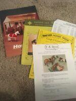 Vintage Breyer Model Horse Hobby Sales Catalogs Lists Magazines