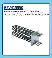 RATIONAL ELEMENT 3 x 3000W CCD, CCM61/102, CCC & CCM201/202 SERIES GEV415550
