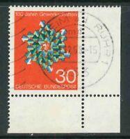 BRD Mi-Nr. 570 - Ecke 3 - Eckrand - gestempelt - Vollstempel - Ortsstempel