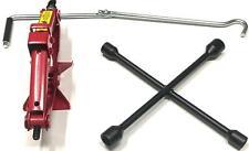 1 Ton Car Automobile Lift Vehicle Jack Heavy Duty Scissor Jack +  Wheel Brace