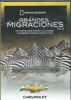 NATIONAL GEOGRAPHIC GRANDES MIGRACIONES VOL.2 NEW