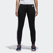 Adidas Donna Pantaloni da ginnastica Essentials 3 Strisce Fascia Black/bianco (nero) XL