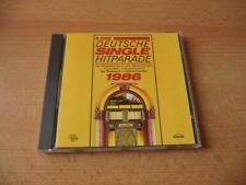 CD Die Deutsche Single Hitparade 1986: Falco Nicki Karel Gott & Darinka EAV G G