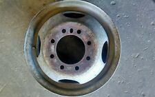 "TRAILER RIM 16"" 8 LUG STEEL DUALLY WHEEL USED 4.88"" PILOT 6"" WIDE"