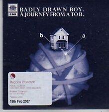 (CB78) Badly Drawn Boy, Journey From A To B - 2007 DJ CD