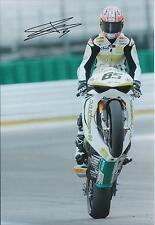 Jonathan REA SIGNED Superbike Castrol HONDA Autograph 12x8 Photo AFTAL COA RIDER