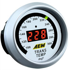 AEM Transmission Temperature Gauge 100-300F Analog Face