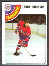 1978 79 OPC O PEE CHEE 210 LARRY ROBINSON NM MONTREAL CANADIENS HOCKEY CARD