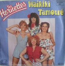 "7"" 80s KULT ! THE HORNETTES : Waikiki Tamoure  /VG+"