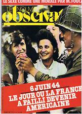 LE NOUVEL OBSERVATEUR N°1021  6 JUIN 1944