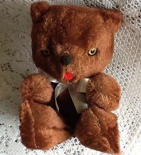"""Knickerbocker Teddy Bear, Mint in box, Vintage! Not Marked """"Sewn On Japan"""""""