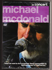MICHAEL MCDONALD - IN CONCERT - NEW & SEALED R2 DVD
