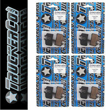4pr TruckerCo High Performance Disc Brake Pads Hayes HFX 9 Mag Plus Mag HD osm19