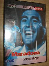 RARO DVD MITI DE DEPORTE N° 2 DIEGO ARMANDO MARADONA ARGENTINA NAPOLI ITA-ENG